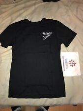 "Off White X Nike Off Campus Short Sleeve Tee ""Black"" Size M L Xl - Nyc Exclusive"