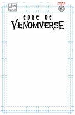 Edge of Venomverse 1 Marvel Blank Sketch Variant Scorpion Comics Comic Con NM