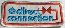 Mopar Direct Connection embroidered cloth patch.-  Wholesale lot of 10 patches -