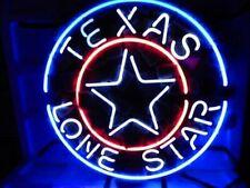 "New Texas Lone Star Bar Cub Party Light Lamp Decor Neon Sign 17""x14"""