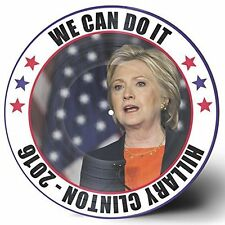 "HILLARY CLINTON 2016 ""WE CAN DO IT"" 12"" VINYL PICTURE DISC LP USA PATRIOTIC SONG"