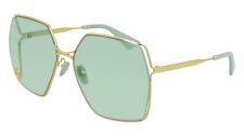 Neues AngebotGucci Sonnenbrille GG0817S  003 Gold - Grün - Frau