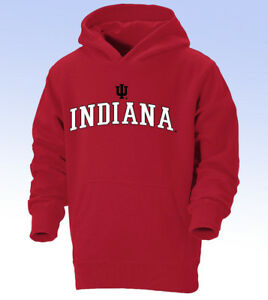 OURAY Sportswear NCAA Indiana Hoosiers Youth Go-To Hoodie - RED - Large (12)