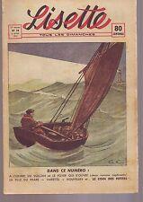 lisette - numero 14 - avril 1941