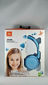NEW JBL JR 300 kids on-ear headphones (blue)