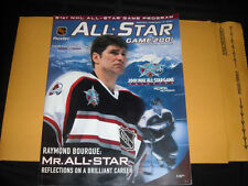 2001 NHL ALL-STAR PROGRAM RAY BOURQUE ON COVER