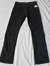 LEVIS Womans 511 SKINNY STRAIGHT LEG GRAY CORDUROY PANTS 26 X 26.5 NWT  $60