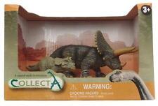 Plastic Dinosaur figures in presentation box - includes Triceratops Dinosaur