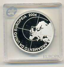 Portugal Enlargement of the European Union Silver 8 Euro 2004 PROOF