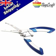 "Stainless Steel 6.4"" Inch Fishing Pliers Line Cutter Hook Cut Remove Tackle Tool"