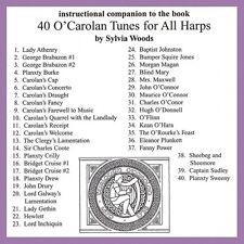 40 O'Carolan Tunes for All Harps Companion CD to the Songbook Harp CD  000121120