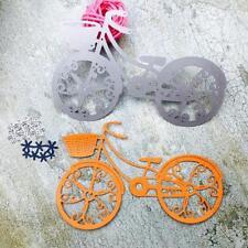 DIY Bike Cutting Dies Stencil for Scrapbooking Embossing Album Paper Card Craft
