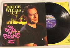 Bruce Willis The Return Of Bruno 1987 Vinyl Record LP. SG123