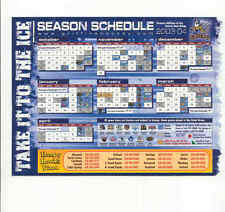 2003-04 Grand Rapids Griffins AHL Detroit Red Wings team issued magnet schedule