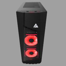 BLAZE 231G AZZA BLAZE 231 Midi Tower PC Gehärtetes Glas Schwarz ATX,Micro AT ~D~