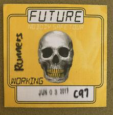 Future Nobody Safe Tour Backstage Pass 2017