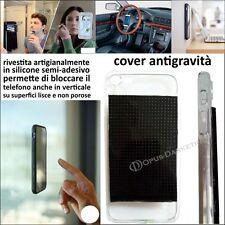 COVER ANTIGRAVITA' INNESTO SILICONE ADESIVO PER IPHONE 6 PLUS
