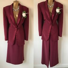 JACQUES VERT Trouser Skirt Suit SIZE 12/14 Mother Of The Bride OCCASION Wedding.