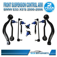 Front Lower Control Arm Arms Ball Joint Tie Rod End For BMW E53 X5 Full Set 10PC