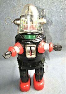 MECHANIZED ROBOT ( ROBBY ) 1950's JAPAN by NOMURA TOYS Ltd. VG / WORKING