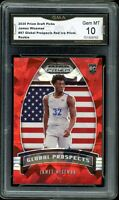 2020 Prizm Draft Picks Red Ice Prizm Global #97 James Wiseman RC GMA 10 COMP PSA