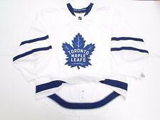 TORONTO MAPLE LEAFS AUTHENTIC NEW AWAY REEBOK EDGE 2.0 7287 JERSEY GOALIE CUT 60