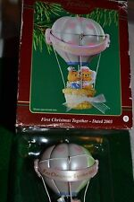CARLTON CARDS - HEIRLOOM COLLECTION-FIRST CHRISTMAS TOGETHER - 2003