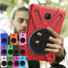 Shockproof Stand Rugged Rotating Case For Samsung Galaxy Tab A 8.0 T387 / T387V