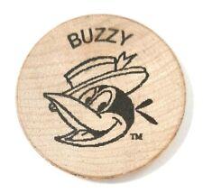 Vintage HARVEY COMICS ENTERTAINMENT Buzzy 1 inch Wood Chip