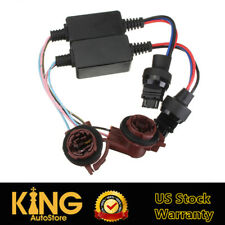 2x Load Resistor Canbus Decoder 3157 3457 For Turn Signal Light Tail Brake Light