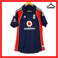 England Cricket Shirt Adidas M Medium Training Kit Polo Jersey Ashes 2008 2009