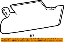 Jeep CHRYSLER OEM 2002 Grand Cherokee Sunvisor-Sun Visor Right 5HG78XT5AC