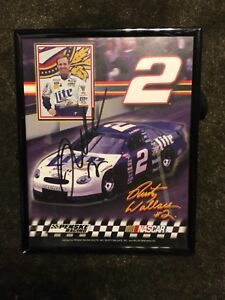 Rusty Wallace Signed Autographed Nascar Photo Miller Lite #2