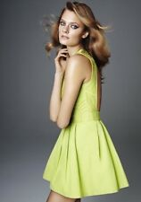 H&M Conscious Collection 2012 Open Back Dress US 4