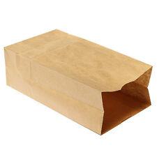 10x kraft Mercancía de bodas regalo de papel marrón bolsa de bolsas de papel