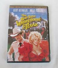 THE BEST LITTLE WHOREHOUSE IN TEXAS  DVD MOVIE WIDESCREEN VERSION NEW AND SEALED