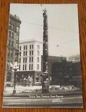 RPPC: SEATTLE, WASHINGTON - Pioneer place Totem Pole -1910