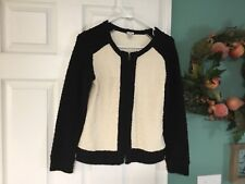 Women's J. Crew Boucle Jacket In Color Block Tweed Size Small (CON6)