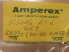 Amperex (Mostly) Vintage 2NXXX Transistors Mostly NOS Quantity in Auction in ()