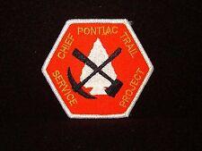 BOY SCOUT  CHIEF PONTIAC TRAIL  SERVICE PROJECT PP             MICH