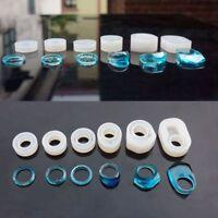 6 pezzi assortiti anello in silicone DIY stampo per resina artigianale crea T4R8