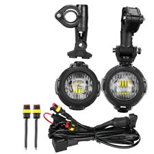 2x Spot Auxiliary Fog LED Light Driving Safety Lamp For BMW R1200GS F700 F800gs