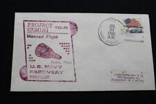 NAVAL SPACE COVER 1966 GEMINI GTA-10 RECOVERY SHIP USS B STODDERT (DDG-22) (704)