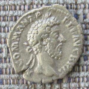 COMMODUS Roman silver denarius  BRIT in legend