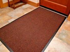 Brown Barrier Mat 60 x 120 Heavy Duty Anti Slip Machine Washable Doormat Indoor