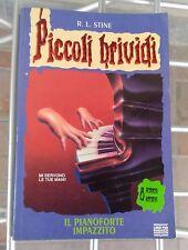 Piccoli Brividi 13 - Il Pianoforte Impazzito - R L Stine Mondadori Libro Horror