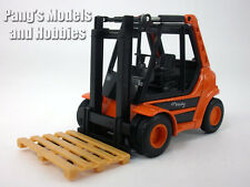 5.5 Inch Fork Lift Truck Diecast Metal Model by Welly - ORANGE