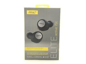 *BRAND NEW* Jabra Elite Active 75t True In Ear Headphones - Titanium Black