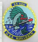 US NAVY USS QUILLBACK SS-424 SUBMARINE PATCH Made for Veterans After WW2
