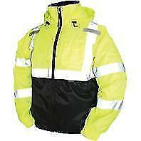 Tingley Rubber J26112 Bomber II Jacket Large Lime Green